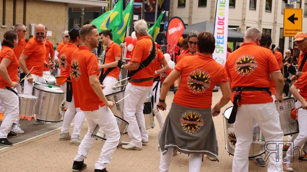 Maisquenada optreden sambafestival Heerlen