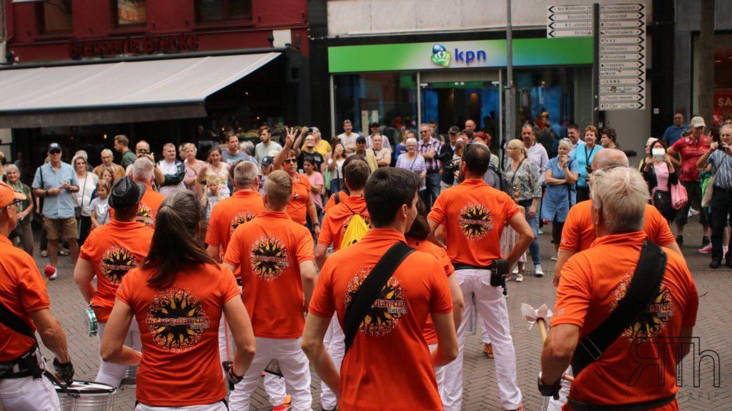 optreden sambafestival heerlen